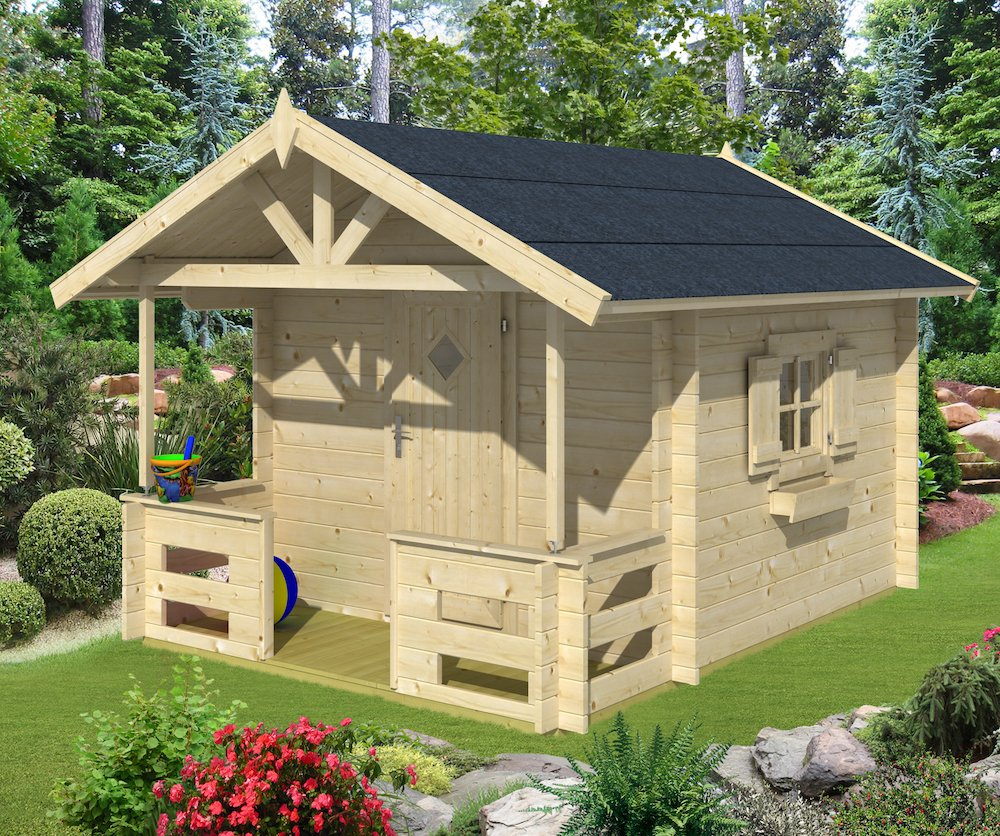 Mari log cabin playhouse