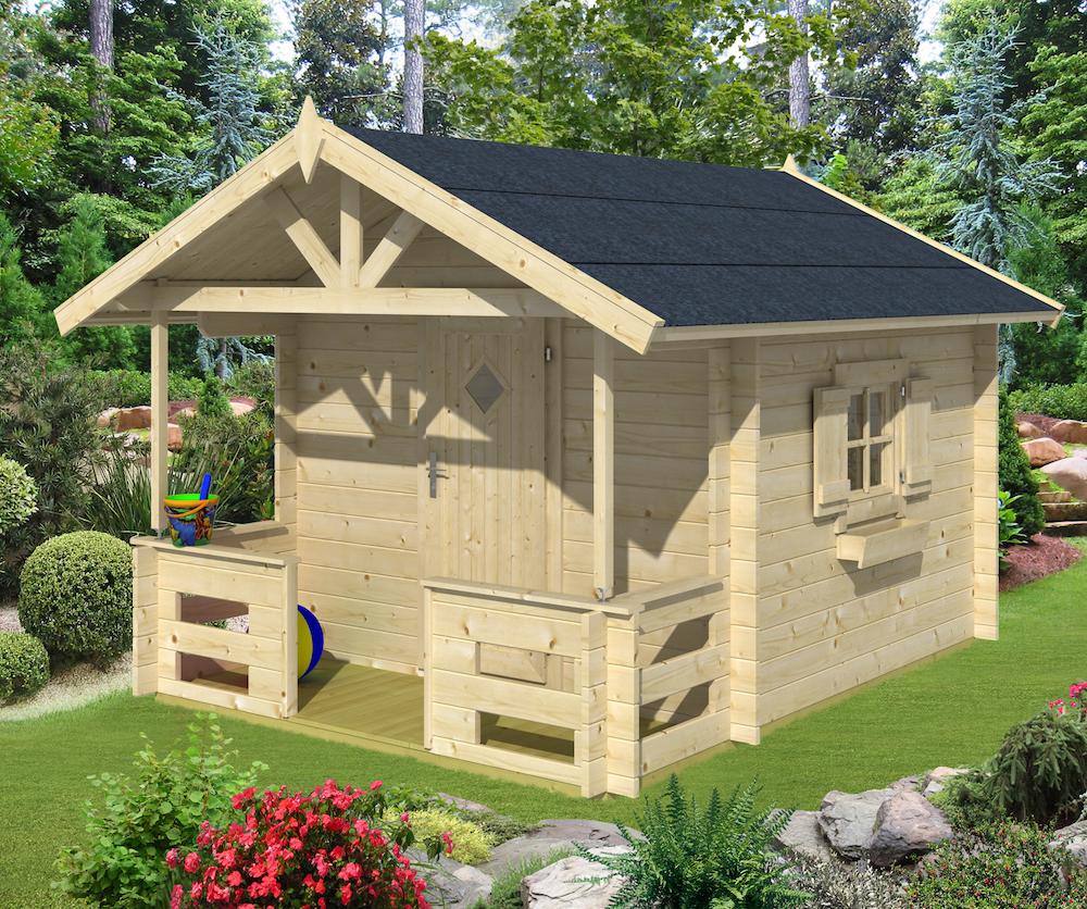 mari log cabin playhouse. Black Bedroom Furniture Sets. Home Design Ideas