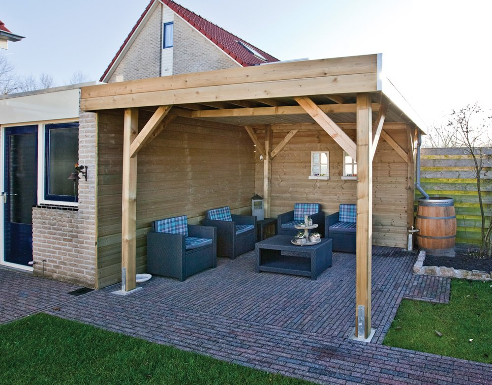 Gazebo Contemporary : Wood Type of timber used in the gazebo construction