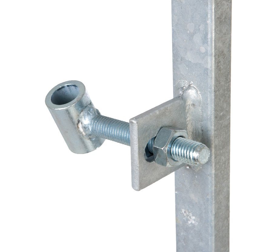 Metal Gate Frame Lock Housing - 2