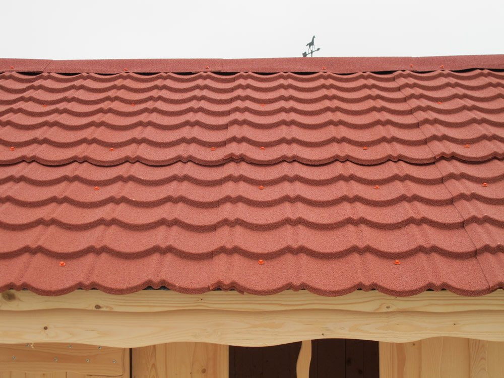 Metal Roofing Sheets For Log Cabins And Garden