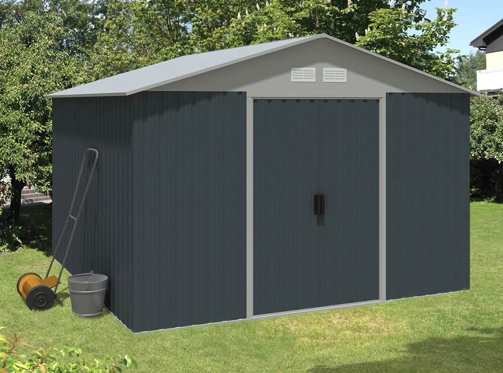 Metal shed Five