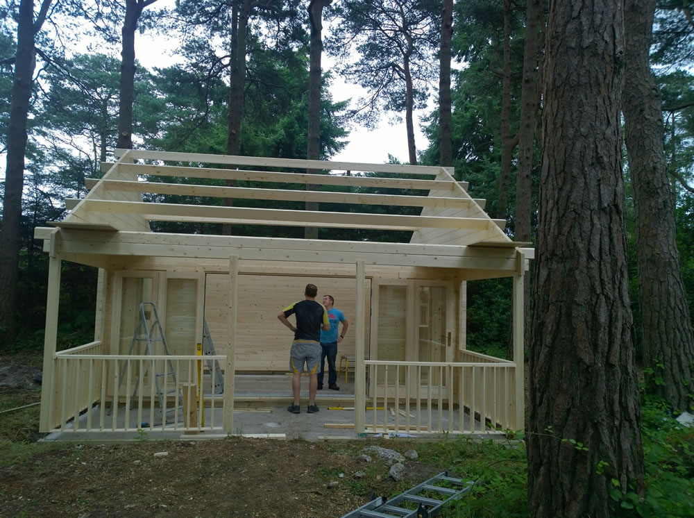 Olaug log cabin