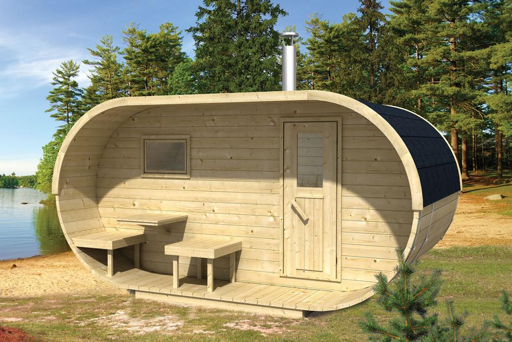 how to build a sauna in my garage
