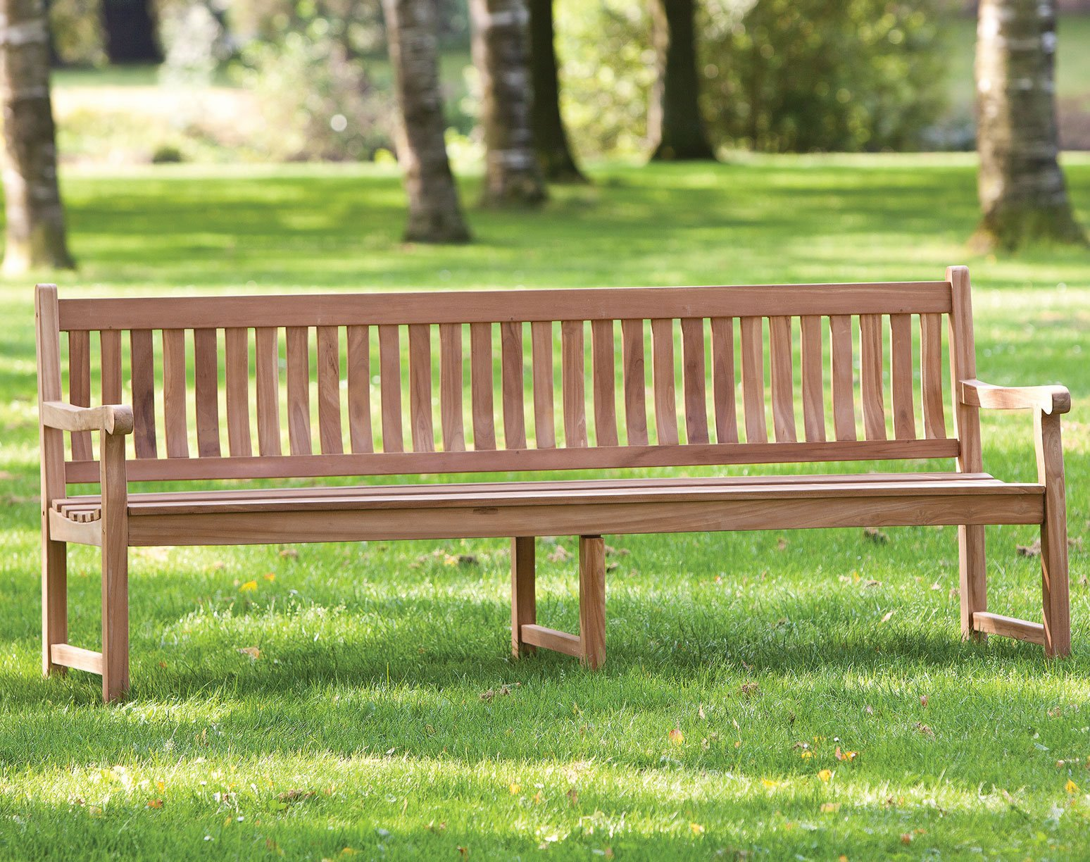 Park Bench 210cm with central support
