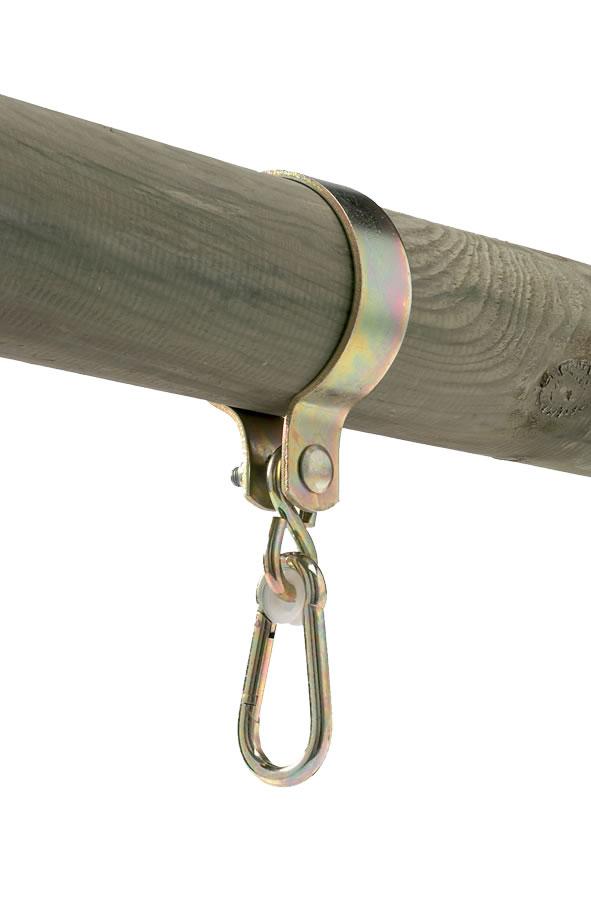 Pole swing bracket