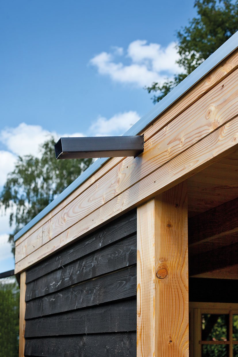 Drainage Duct For Log Cabins And Garden