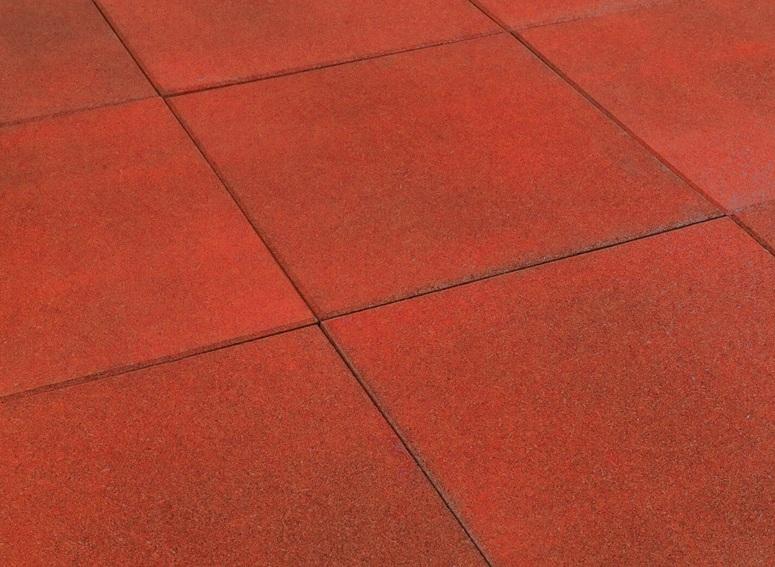 Red Outdoor Rubber Play TileOutdoor Rubber play mat in Red. Outdoor Rubber Tiles Uk. Home Design Ideas