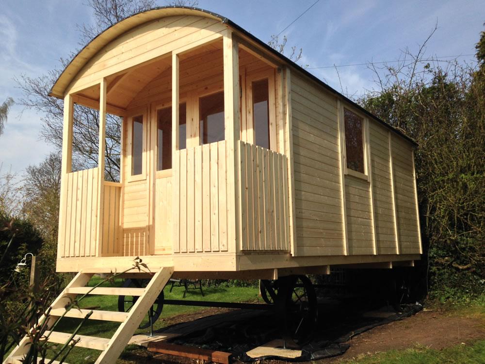 Shepherd Hut Gypsy Caravan