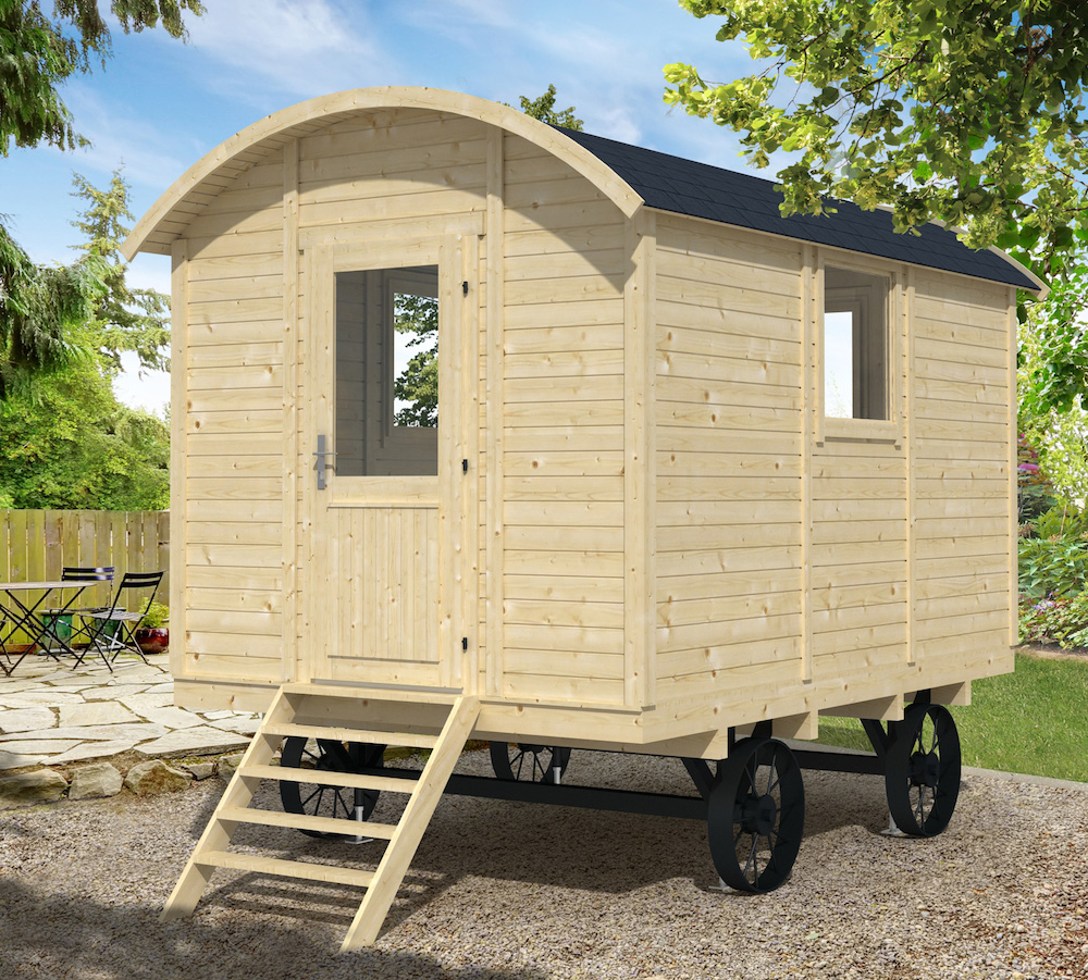 how to build a shepherds hut