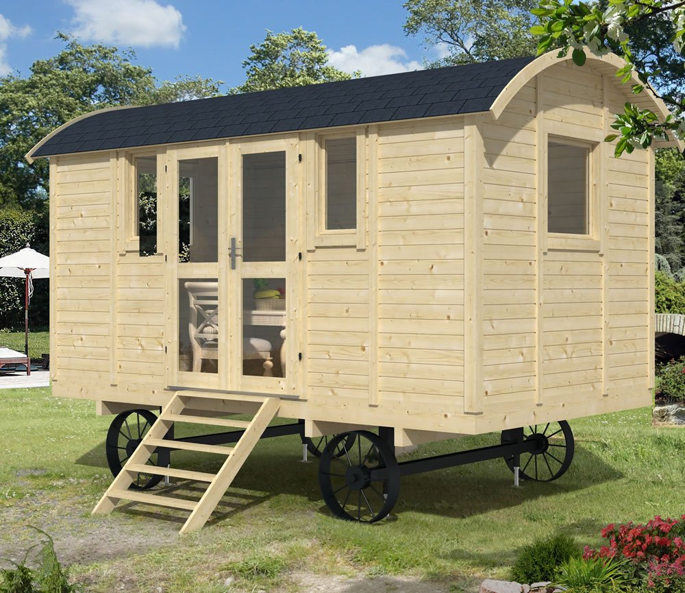 Shepherd hut deluxe version