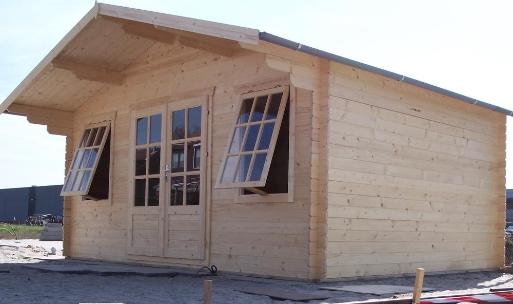 Skyler log cabin