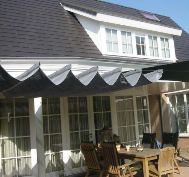 Garden Sliding Shade Awning