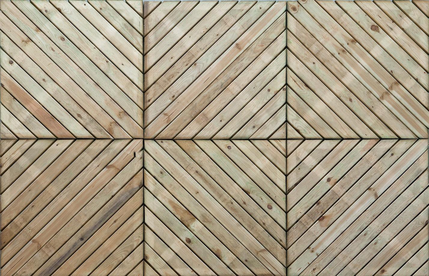 Superbe Scheveningen Garden Decking Tile
