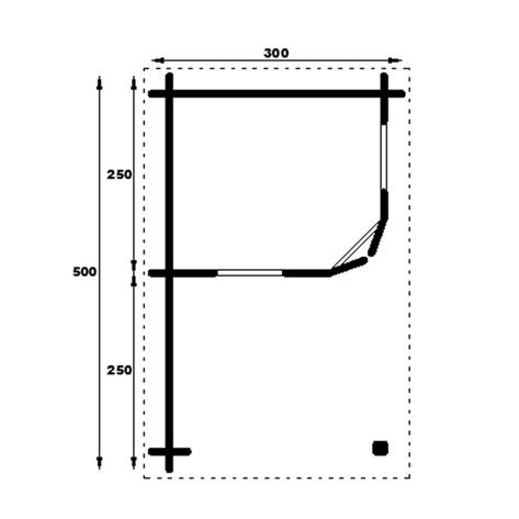 Stig Log Cabin Mirror Image Floor Plan