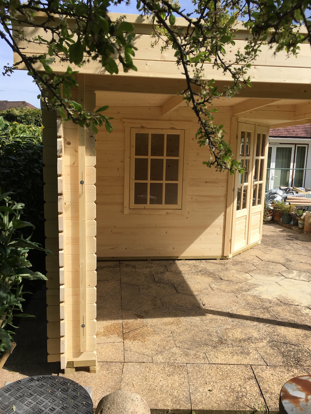 Stig log cabin sent in by a customer