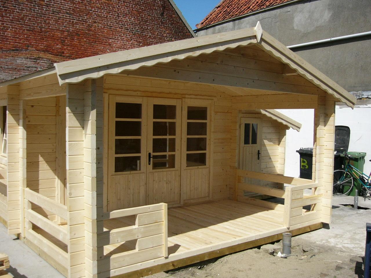 Liverpool Log Cabin