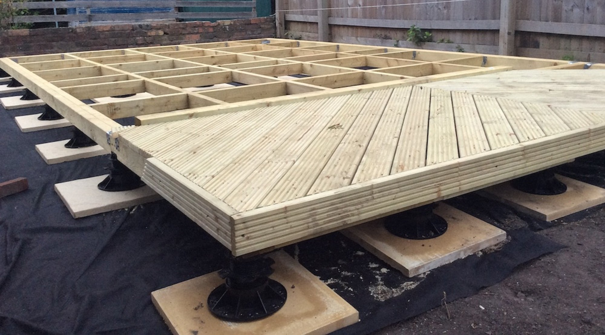 Timber Base Pads