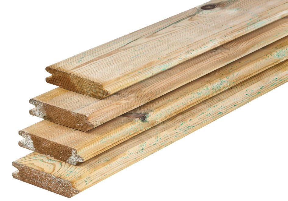Tongue And Groove 28mm Pine Timber