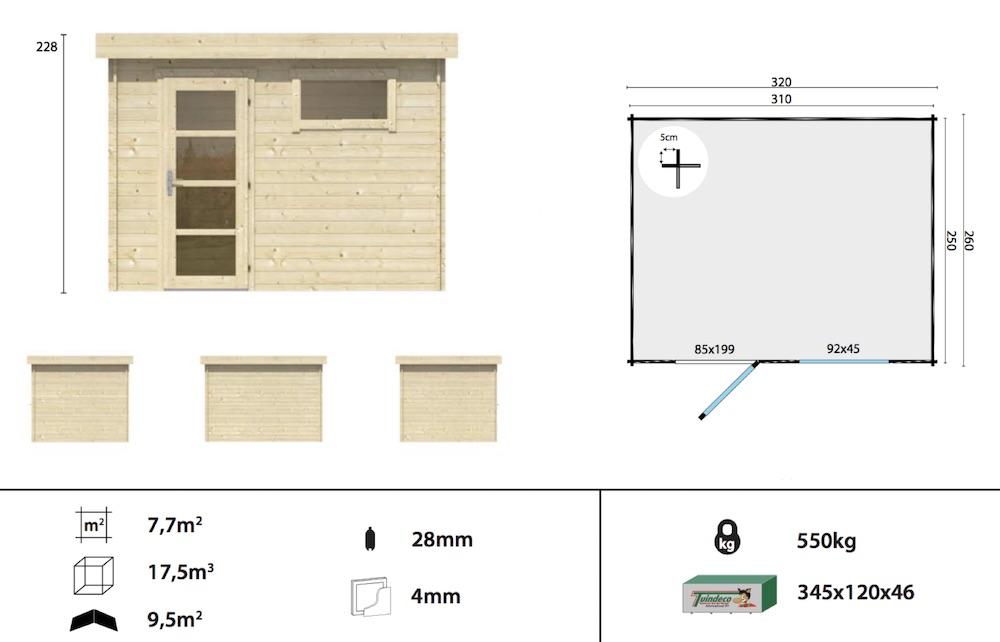 Ultra Modern Log Cabin