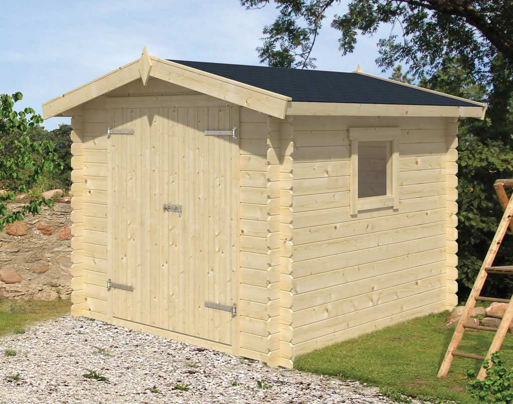 Valery 19mm log cabin