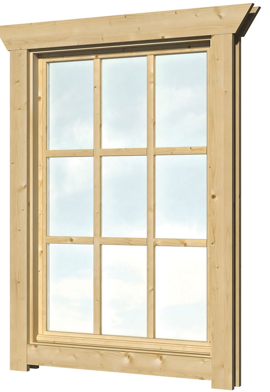 40.2000 Top hinged Window - W1 - W77cm x H112cm