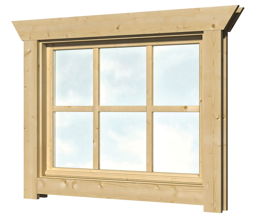 Single Glazed Windows For Log Cabins