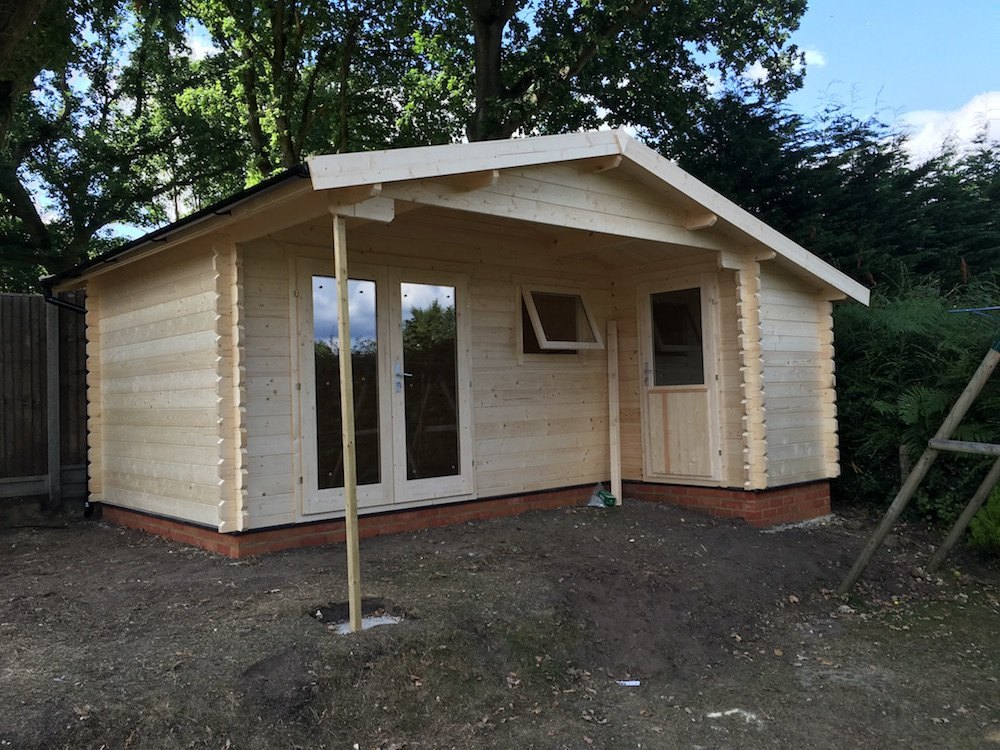 Wolfgang double glazed log cabin