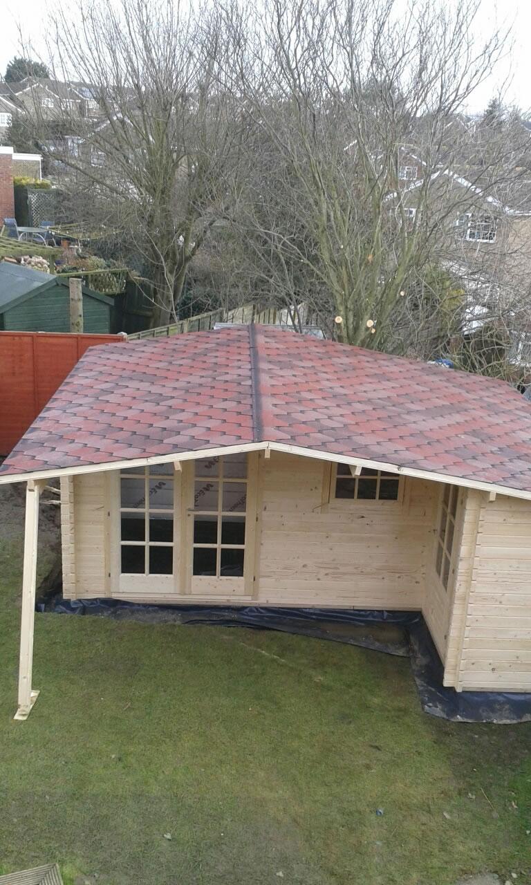 Wolfgang log cabin