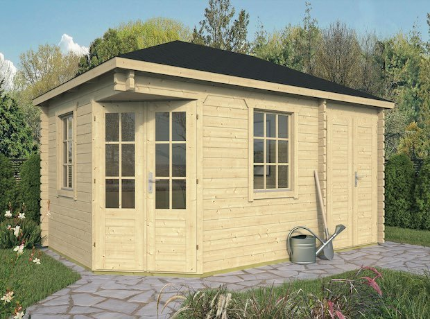 Agnes with Shed Annexe 3x4 4m