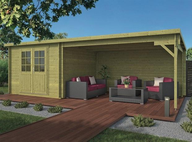 Charlotta Log Cabin 7.0x3.0m