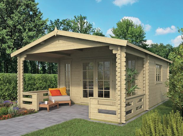 Frodo Log Cabin 4.3x6.5m