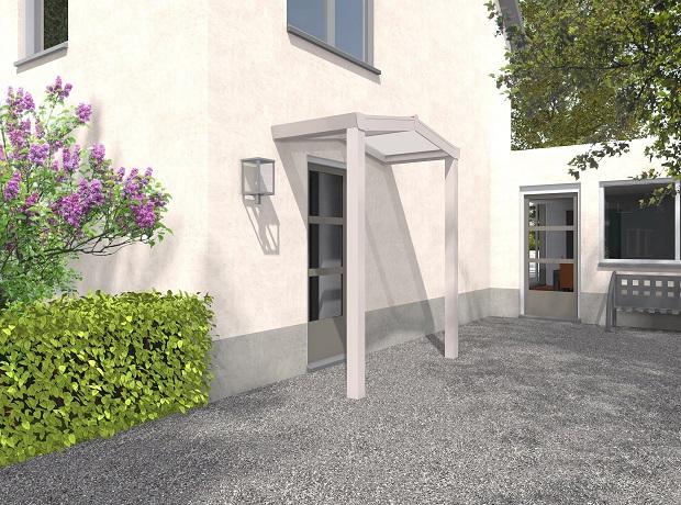 Front Door Porch - Glass