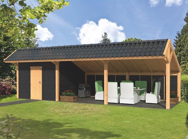 Larch Asymmetrical Apex Garden Building Type Seven