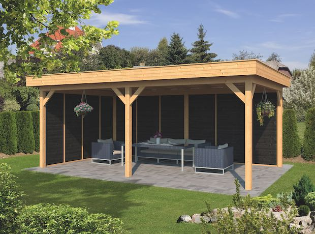 Larch Pent Garden Building Type Two