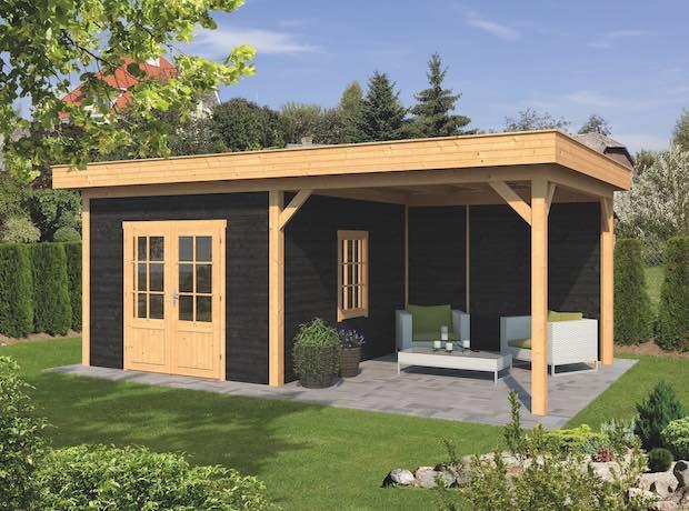 Larch Pent Garden Building Type Four