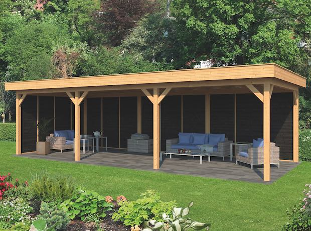 Larch Pent Garden Building Type Six