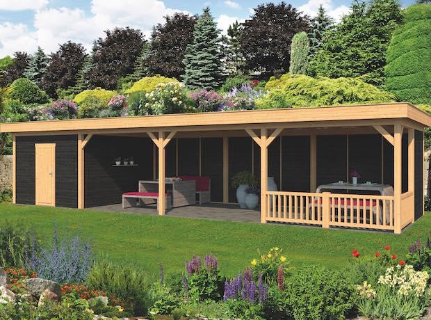Larch Pent Garden Building Type Ten