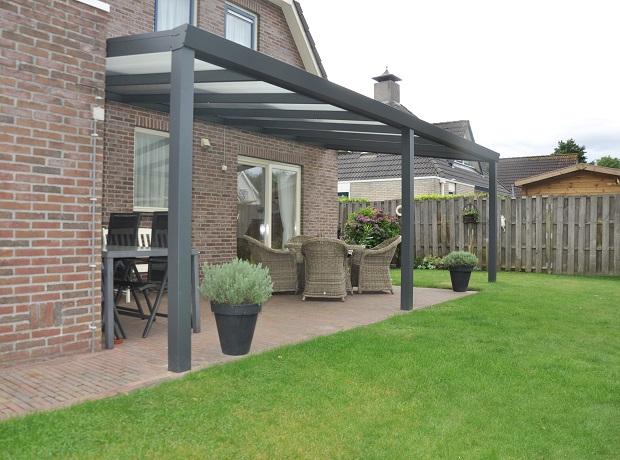 Aluminium Garden Veranda with Polycarbonate...