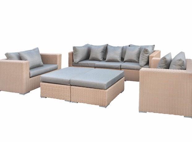 Lounge Set Tuin : Wicker lounge set range