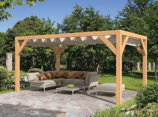 Fabulous Sliding Garden Shade Awning 3M X 5M Download Free Architecture Designs Scobabritishbridgeorg