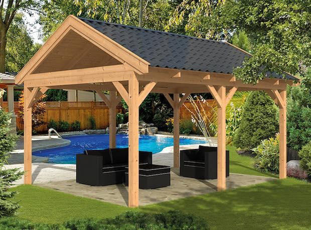 Larch Apex Garden Building Components