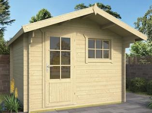 BO Log Cabin 3x3m