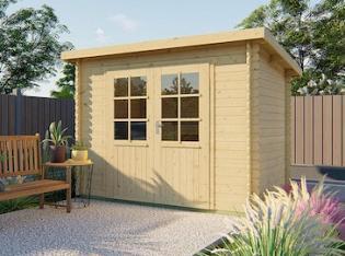 Kris Pent Log Cabin 2.9x2m