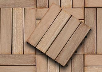 Hardwood Decking Tile Bandung