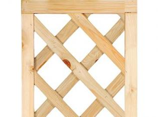 Framed Diagonal Trellis 40