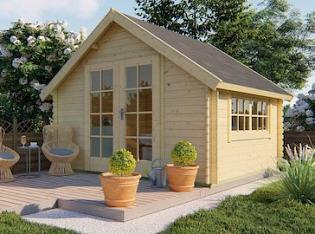 Skov Log Cabin 3.5x3m