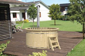 Barrel Hot Tub