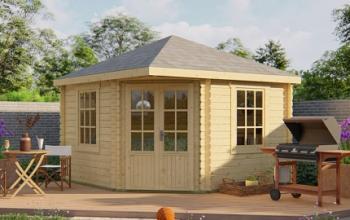 Nilsson Corner Log Cabin 3.5x3.5m