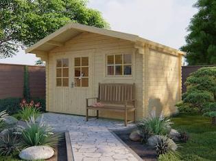 Ingmar Log Cabin 3.8x3.0m